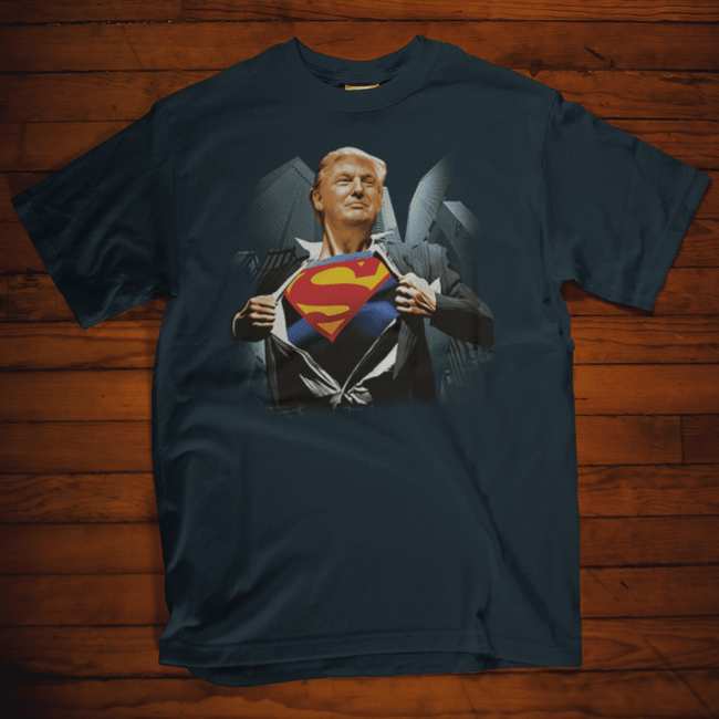 Super Trump T Shirt by Calico Ink