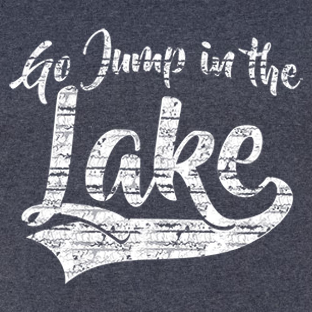 Go Jump In The Lake T Shirt Short Sleeve T-Shirt Calico Ink