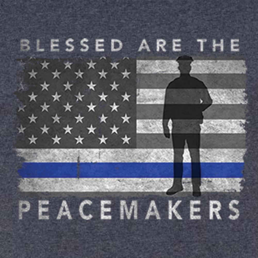 Blessed Are The Peacemakers T Shirt Short Sleeve T-Shirt Calico Ink
