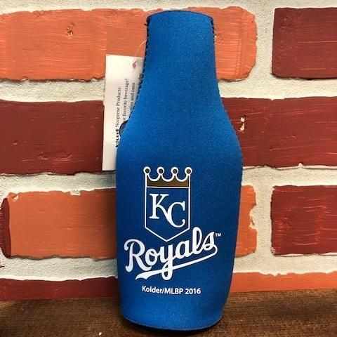 KC Royals Bottle Coozie / Coolie Can Cooler Calico Ink