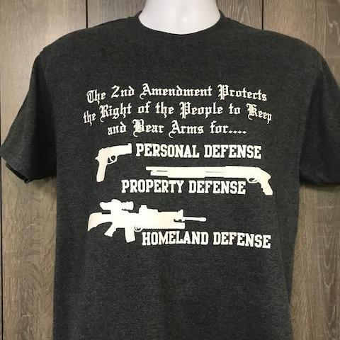 2nd Amendment - Personal Defense, Property Defense, Homeland DefenseCalico Ink T Shirt
