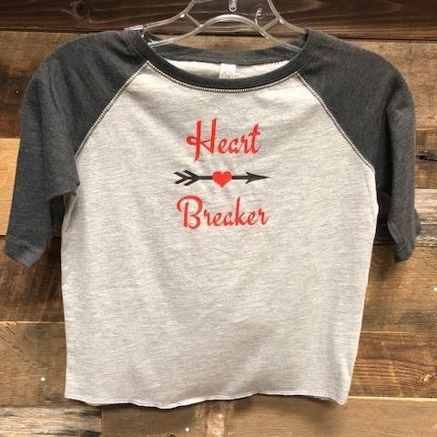 Heart Breaker Youth T Shirt Youth T-Shirt Calico Ink