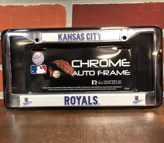KC Royals License Plate Frame Accessories Calico Ink