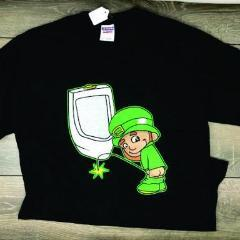 Calico Ink Leprechaun pee T shirt