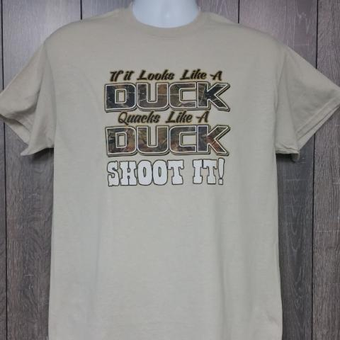 If It Looks Like A Duck T Shirt Short Sleeve T-Shirt Calico Ink