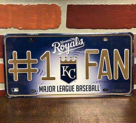 KC Royals License Plate Accessories Calico Ink