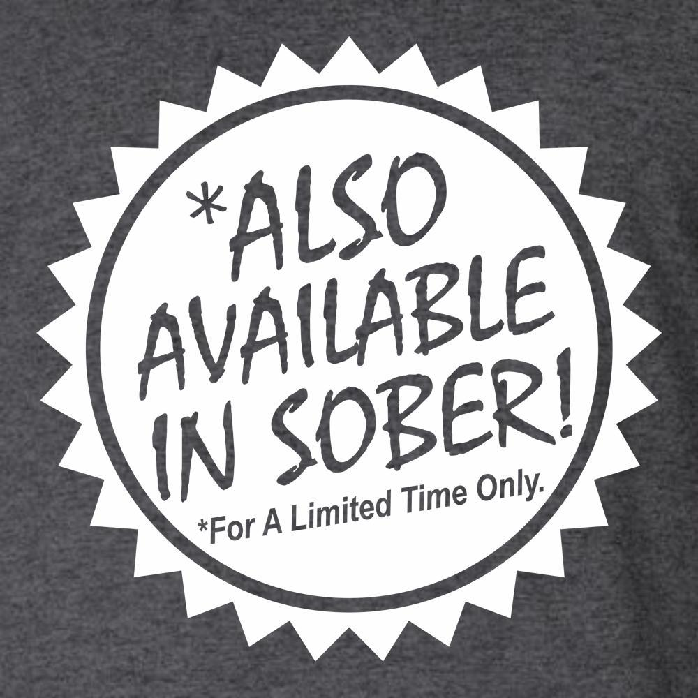 Also Available In Sober T Shirt Short Sleeve T-Shirt Calico Ink