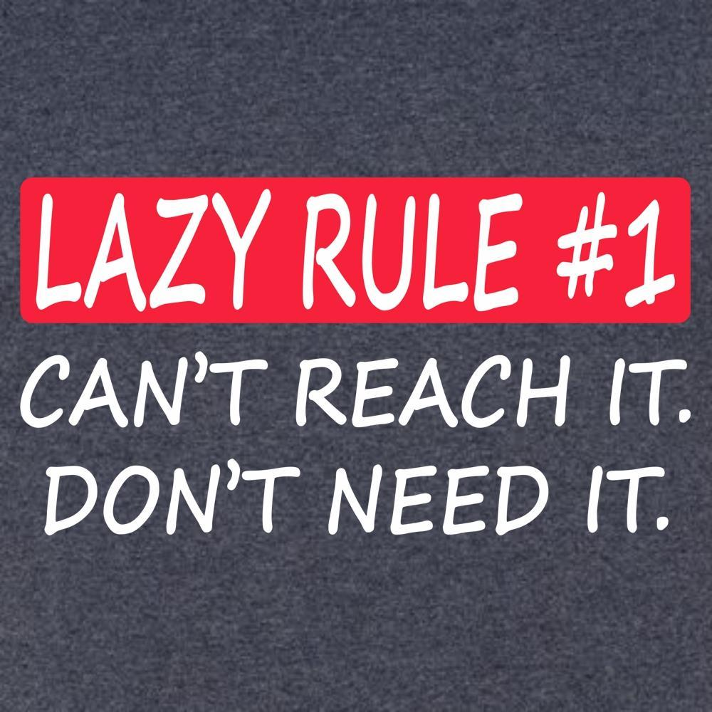Lazy Rule #1 T Shirt Short Sleeve T-Shirt Calico Ink