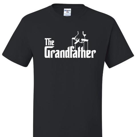 The Grandfather, T Shirt Calico_Ink