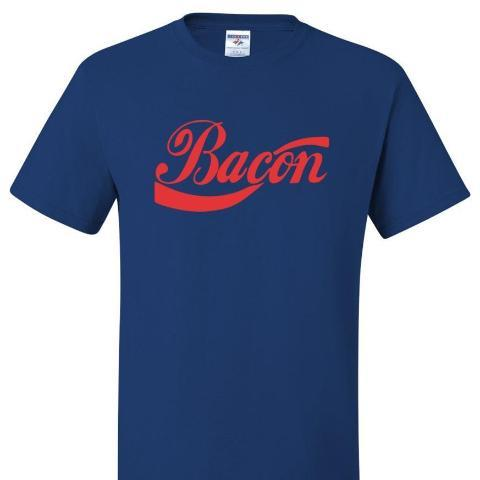 Bacon T Shirt Short Sleeve T-Shirt Calico Ink