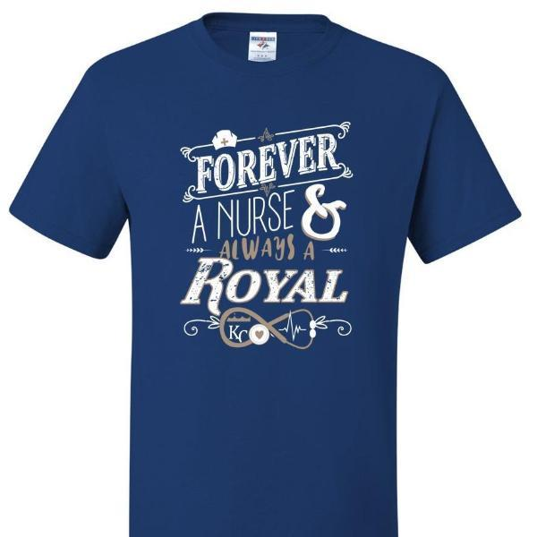 Forever A Nurse, Forever Royal, [product_type} - Calico_Ink