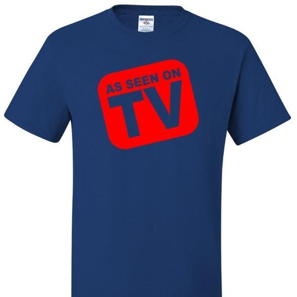 As Seen On TV T Shirt Short Sleeve T-Shirt Calico Ink