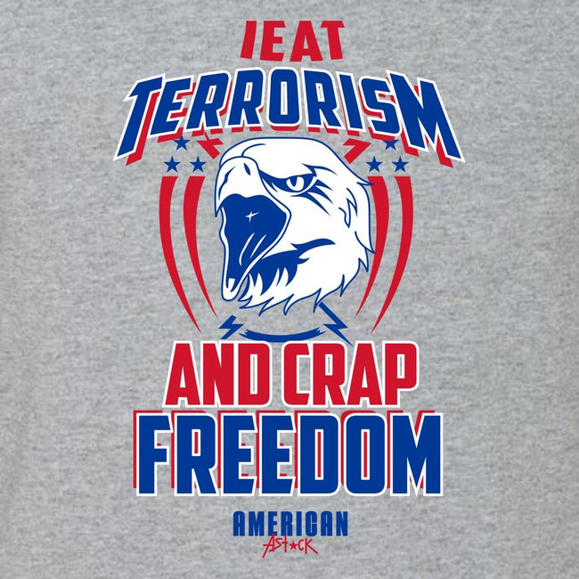 I Eat Terrorism, [product_type} - Calico_Ink