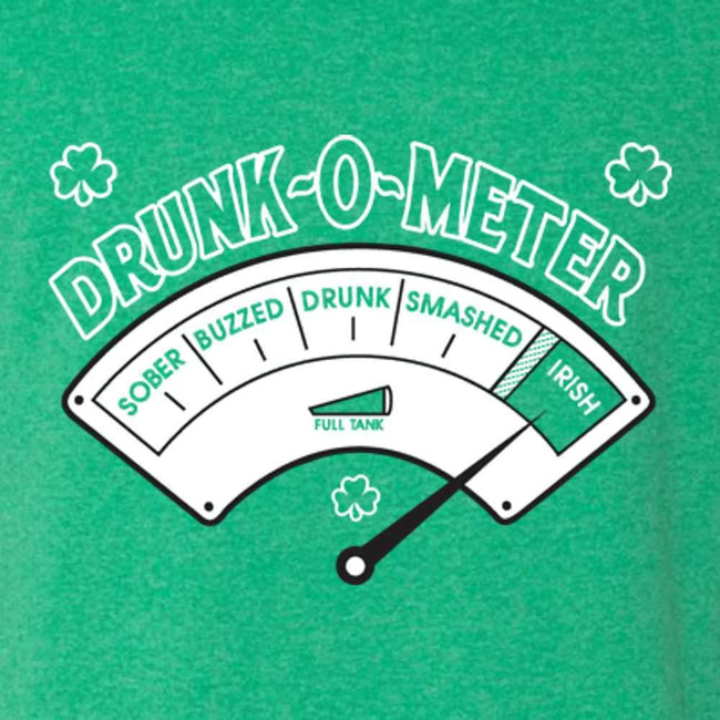 Drunk O Meter St Patrick's Day T Shirt