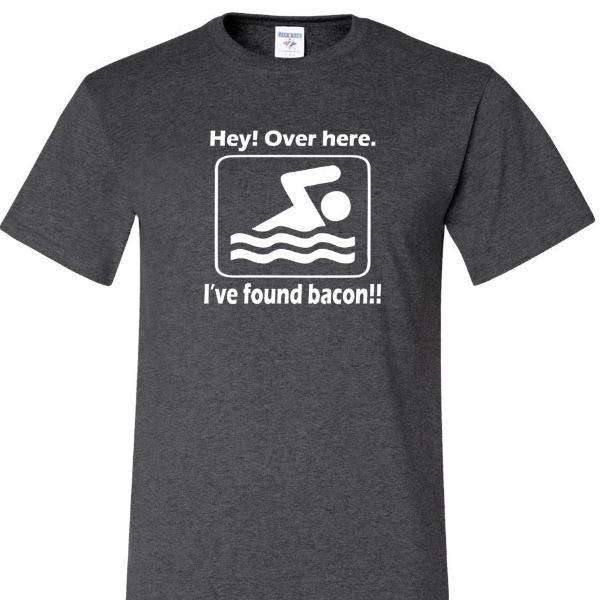 Hey Over Here. Ive Found Bacon T Shirt, by calico_ink