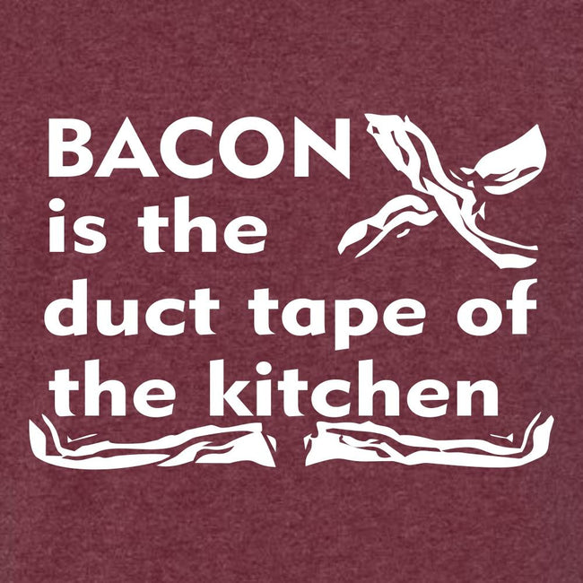 Bacon Is The Duct Tape Of The Kitchen T Shirt Short Sleeve T-Shirt Calico Ink