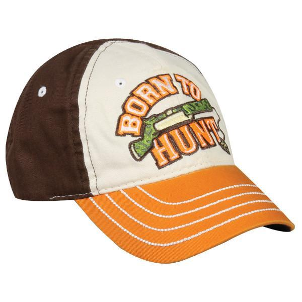 Born To Hunt Youth Hat, [product_type} - Calico_Ink