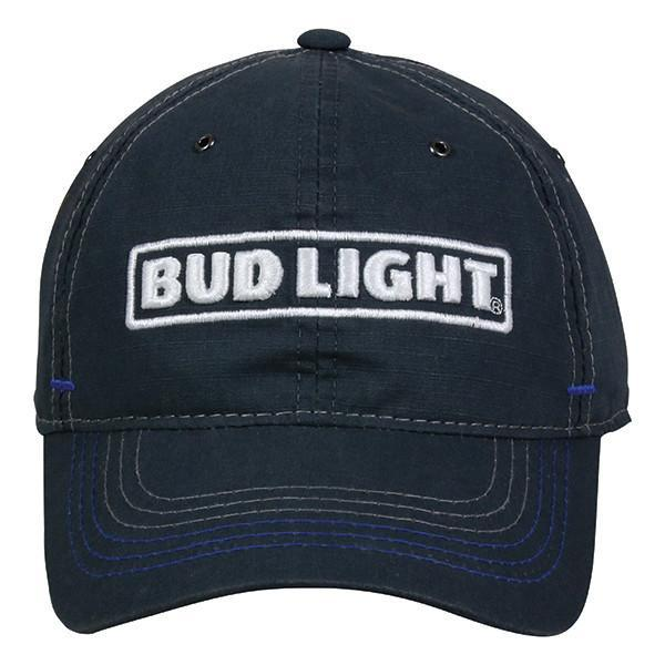 Bud Light Charcoal Hat Hats Calico Ink