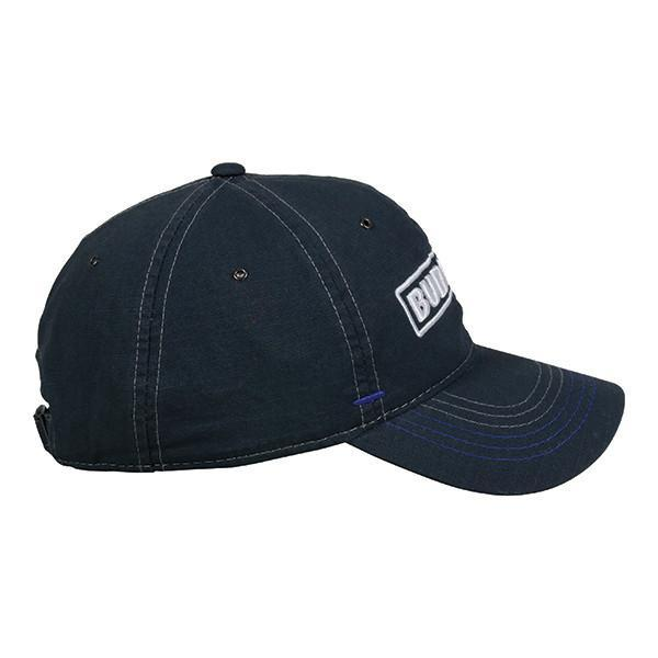 Bud Light Charcoal Hat, [product_type} - Calico_Ink
