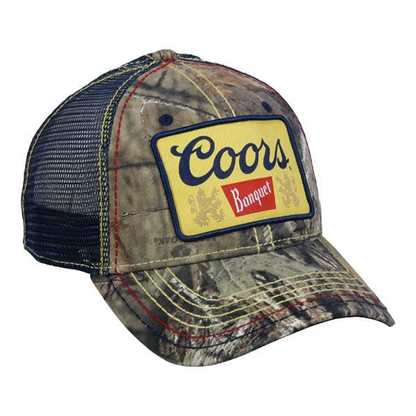 Coors  Hat Mossy Oak® Break-Up Country®/ Navy, [product_type} - Calico_Ink