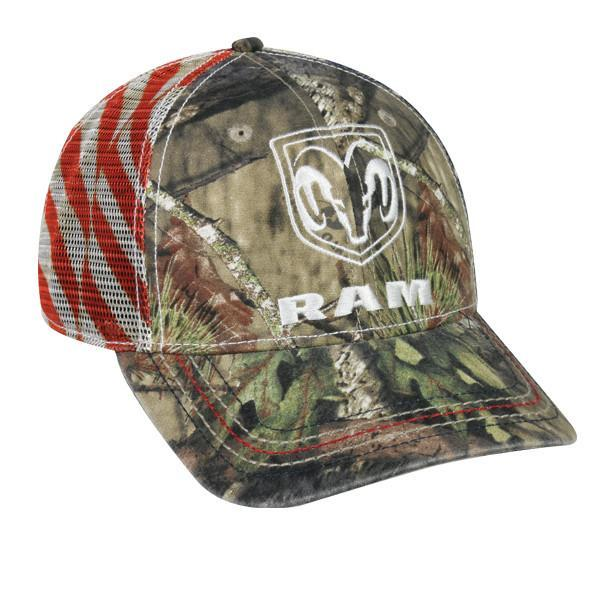 Dodge Ram Mossy Oak® Break-Up Country® Hats Outdoor Cap