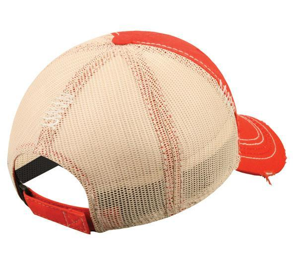 Fishing Hat Red/ Beige, [product_type} - Calico_Ink