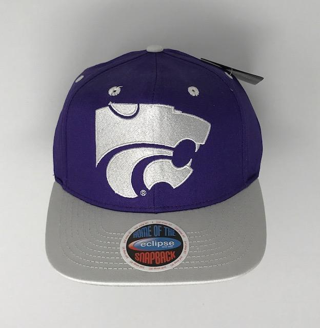 K State Snap Back Hat Hats Calico Ink