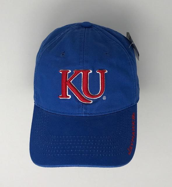 KU Jayhawks Hat 2 Hats Calico Ink