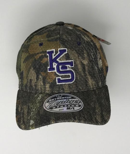 K State Hat 3 Hats Calico Ink