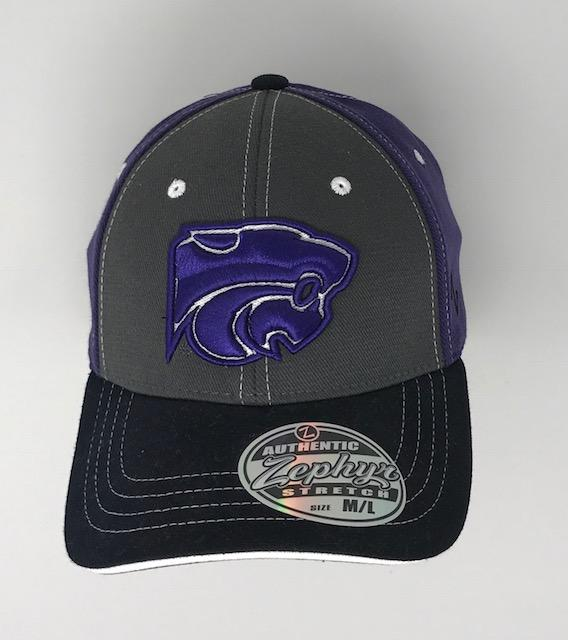 K State Hat 2 Hats Calico Ink