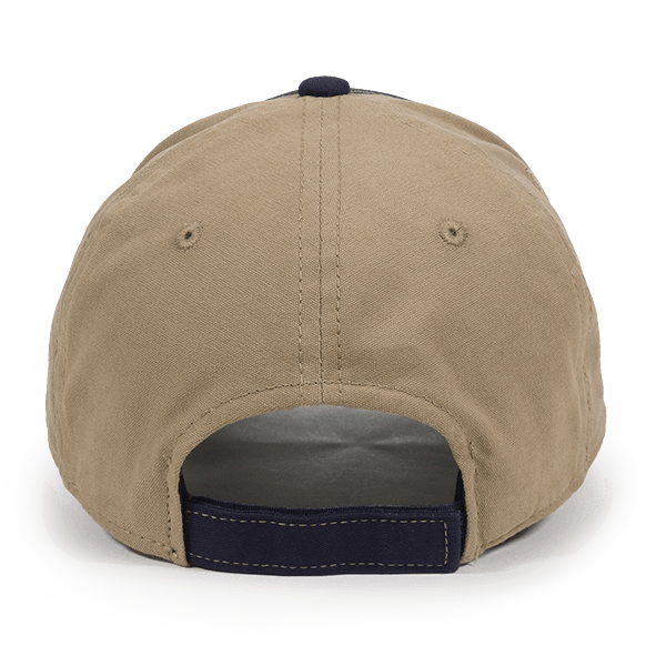 Calico Ink Chevy USA flag hat back
