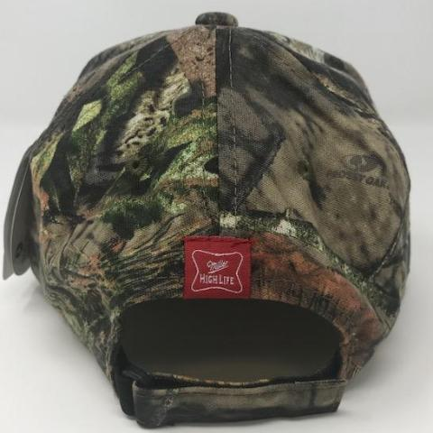 Miller High Life Mossy Oak Hat back by calico_ink