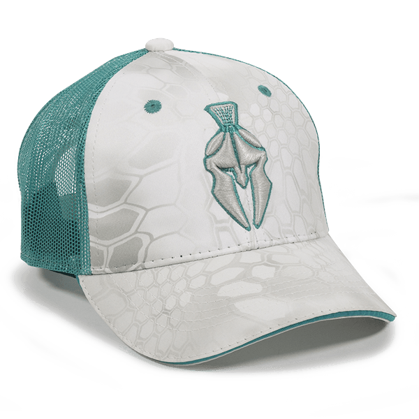 Calico Ink Chevy Krptek Ladies Teal hat front