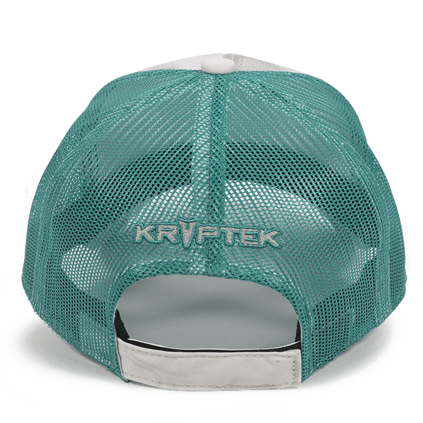 Calico Ink Chevy Krptek Ladies Teal hat back