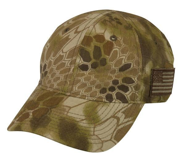 Kryptek® Hat With American Flag
