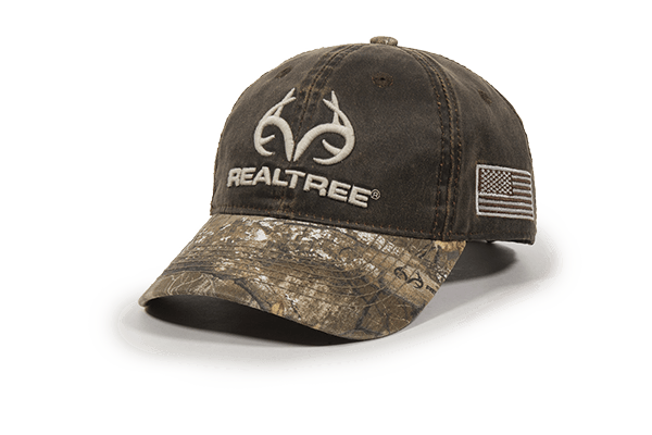 Calico Ink Realtree Edge hat front