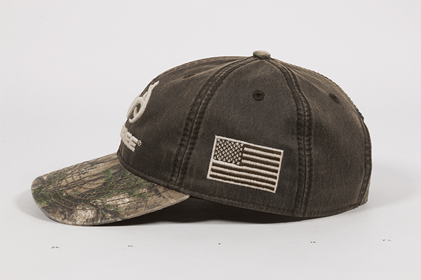 Calico Ink Realtree Edge hat side