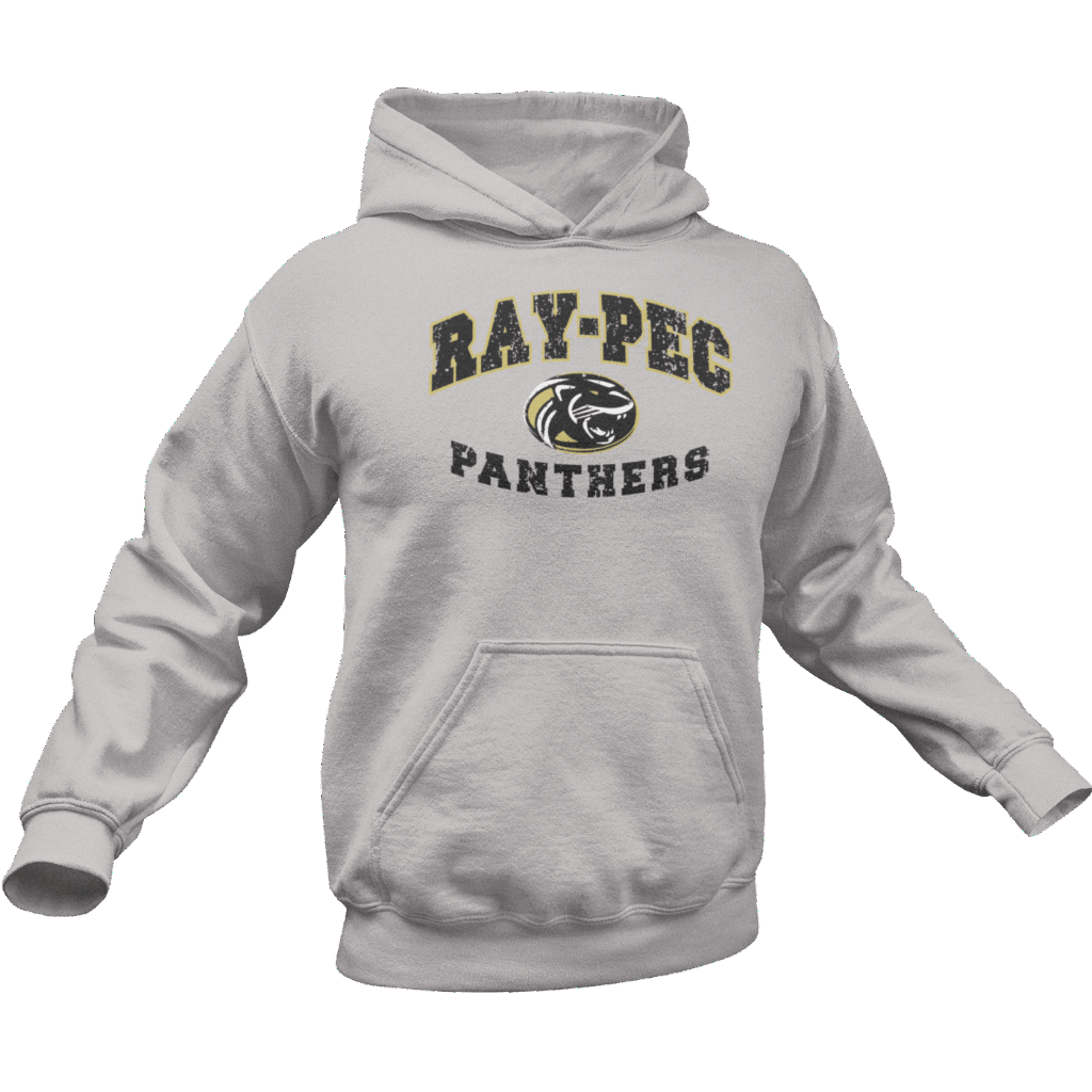 Ray-Pec Panthers Hoodie by calico ink