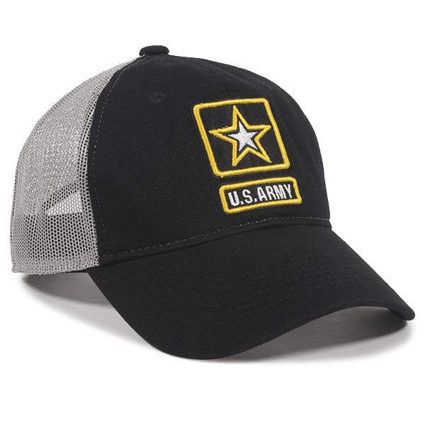 Calico ink US Army Hat Navy and White Front