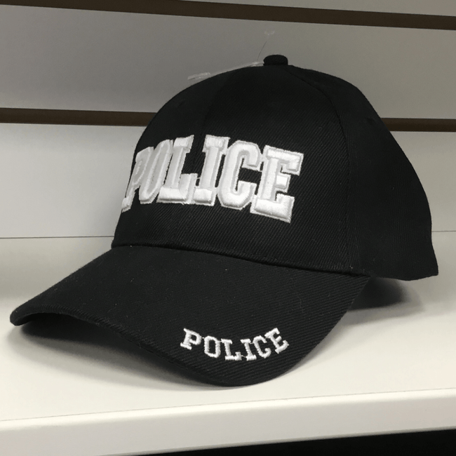 Police Hat Black Hats Calico Ink