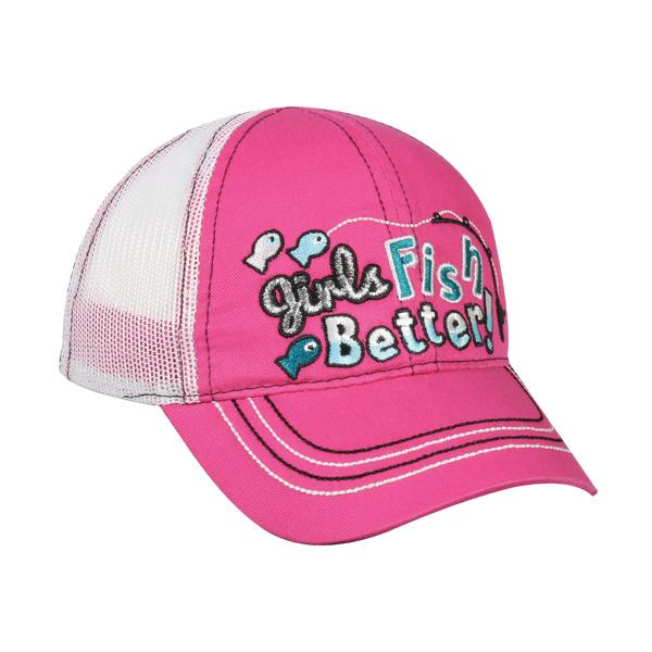 Toddler Girls Fish Better Hat