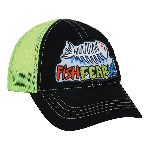 Toddler Fish Fear Me Hat Hats Outdoor Cap