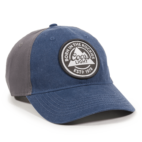 Calico Ink Coors Light Navy Hat