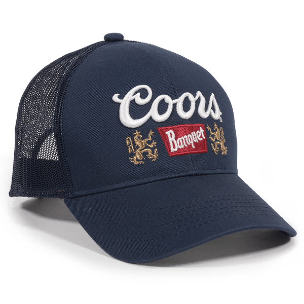 Calico Ink Coors Beer Hat