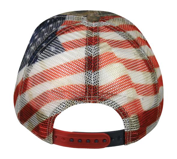 Winchester Realtree American Flag Hat
