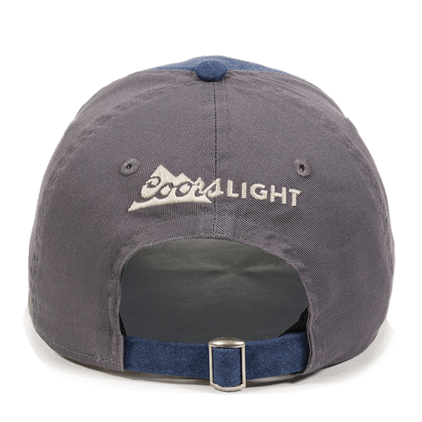 Coors Light Navy Beer Hat