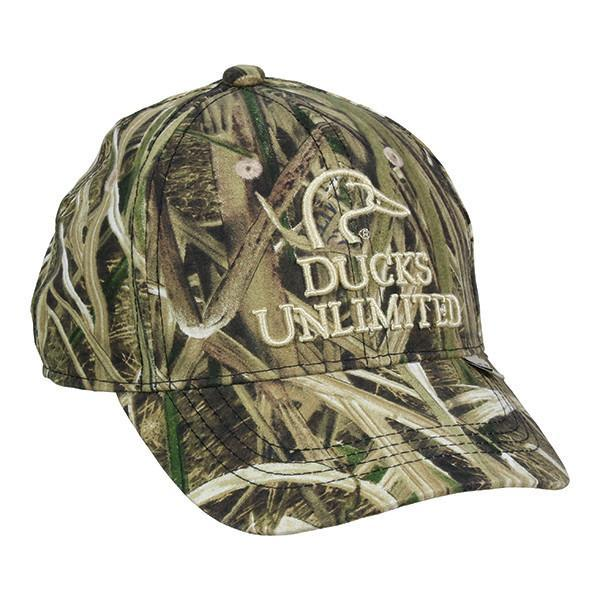 Youth Hat Mossy Oak® Shadow Grass Blades® Ducks Unlimited® Edition Hats Outdoor Cap