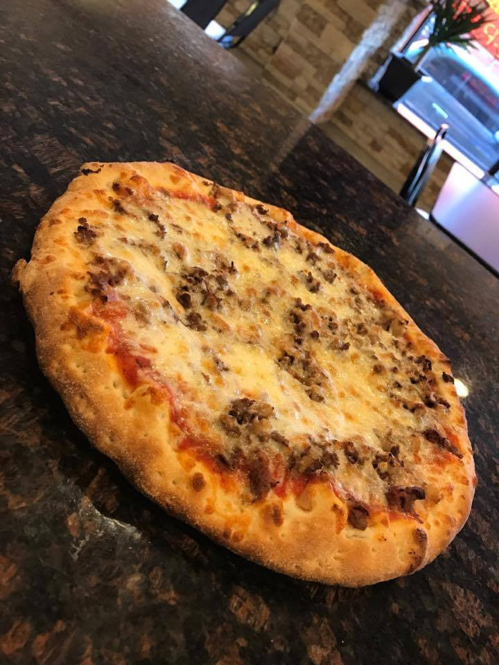 Chopped Steak Pizza