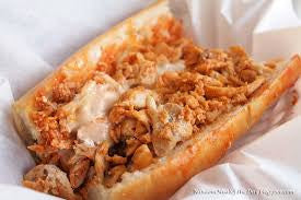 Buffalo Chicken Cheese Steak