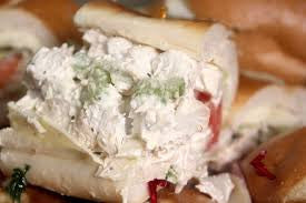 Chicken Salad Hoagie